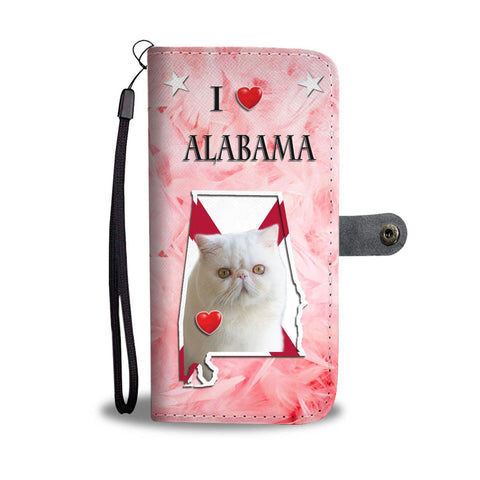 Exotic Shorthair Cat Print Wallet Case-Free Shipping-AL State