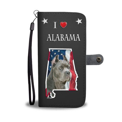 Cute Cane Corso Print Wallet Case-Free Shipping-AL State