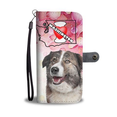 Aidi Dog Print Wallet Case-Free Shipping-WA State