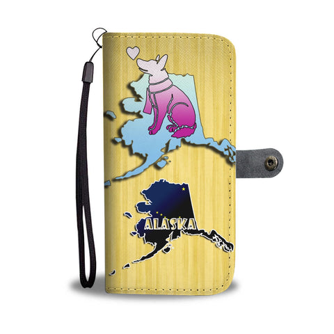 German Shepherd Dog Art Print Wallet Case-Free Shipping-AK State