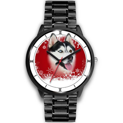 Siberian Husky Christmas Special Wrist Watch-Free Shipping