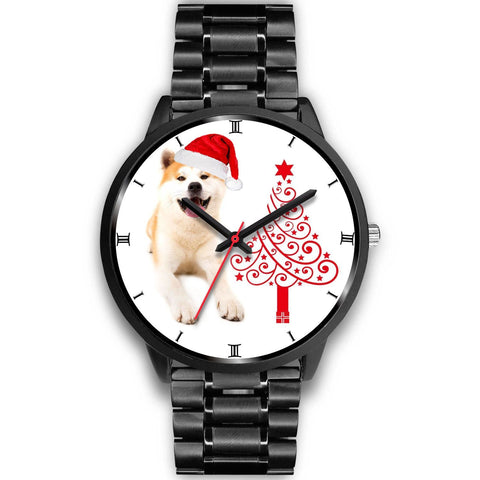 Amazing Akita Dog Christmas Special Wrist Watch-Free Shipping