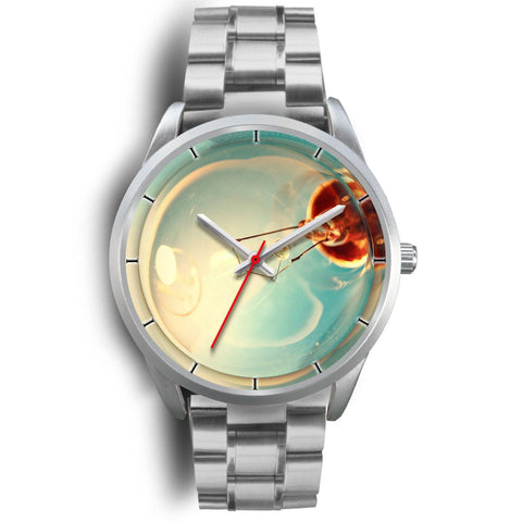 Christmas Special Silver Wrist Watch-Free Shipping