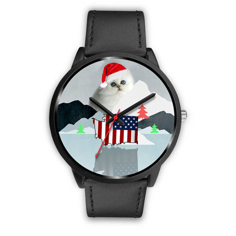 Persian Cat Washington Christmas Special Wrist Watch-Free Shipping