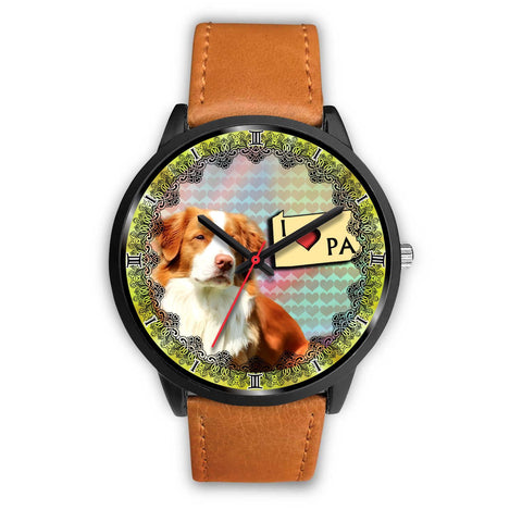 Nova Scotia Duck Tolling Retriever Dog Pennsylvania Christmas Special Wrist Watch-Free Shipping
