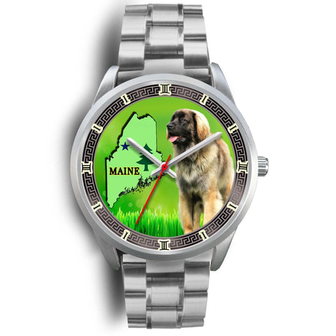 Lovely Leonberger Dog Maine Christmas Special Wrist Watch-Free Shipping