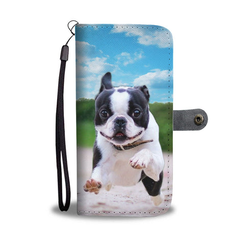 Boston Terrier Wallet Case- Free Shipping