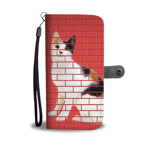 Japanese Bobtail Cat Print Wallet Case-Free Shipping