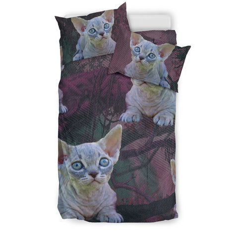 Lovely Minskin Cat Art Print Bedding Set-Free Shipping