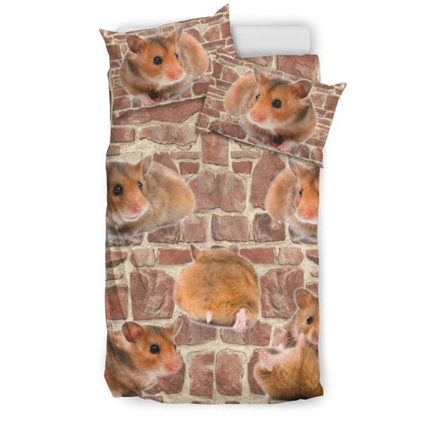 Lovely Djungarian Hamster Print Bedding Set- Free Shipping