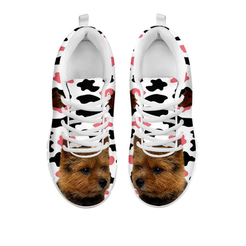 Amazing Norwich Terrier With Clipart Print Running Shoes For Women-Free Shipping-For 24 Hours Only