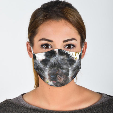 Cairn Terrier Print Face Mask- Limited Edition