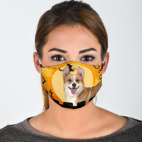 Amazing Pembroke Welsh Corgi Print Face Mask