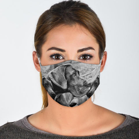 Great Dane Print Face Mask
