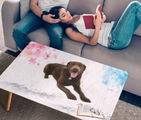 Chesapeake Bay Retriever Print Rectangular Coffee Table
