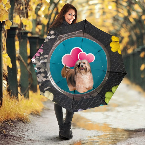 Havanese Dog Print Umbrellas
