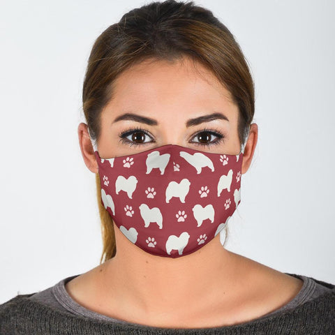 Chow Chow Dog Patterns Print Face Mask