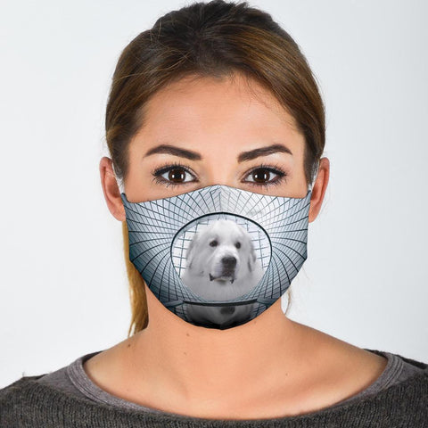 Great Pyrenees Print Face Mask