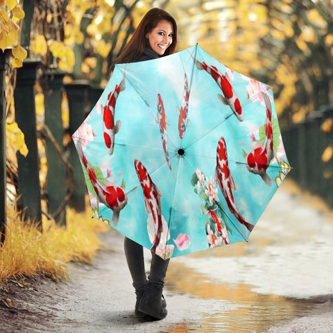 Koi Fish Print Umbrellas
