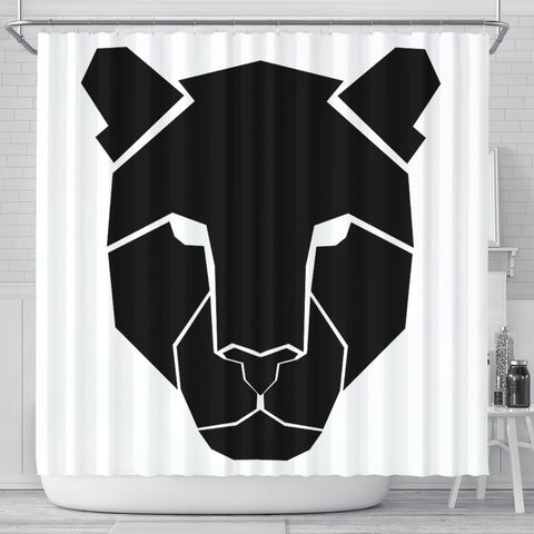 Amazing Leopard Design Print Shower Curtains-Free Shipping