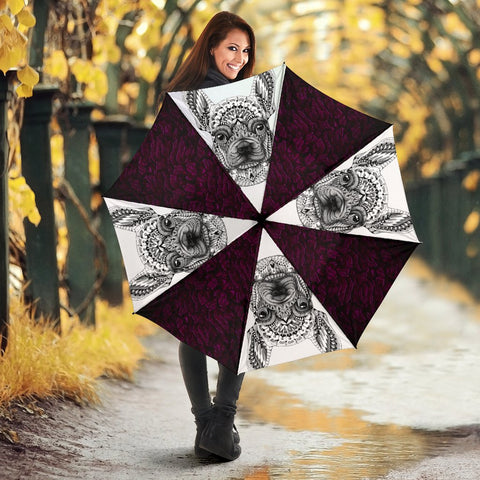 French Bulldog Design Print Umbrellas