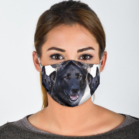 Malinois Dog Print Face Mask