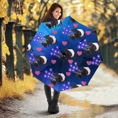 Lakenvelder cattle (Cow) Print Umbrellas