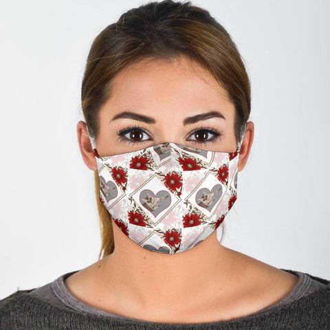 Singapura Cat Patterns Print Face Mask