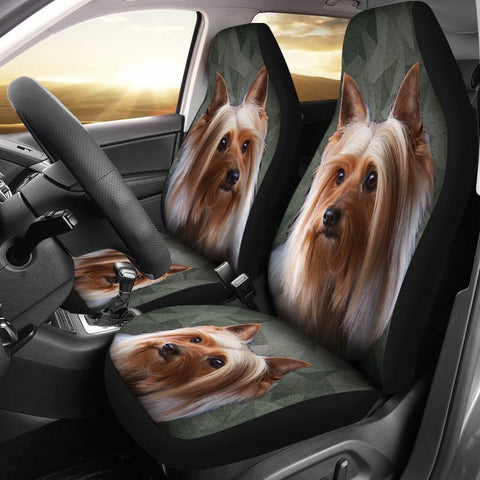 Australian Silky Terrier Print Car Seat Covers-Free Shipping