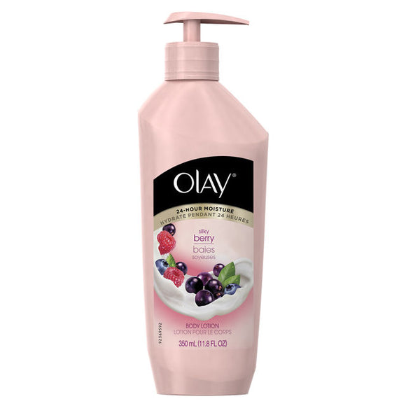 Olay Quench Cooling White Strawberry & Mint Body Lotion, 11.8 fl oz