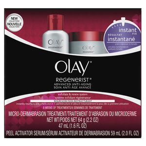 Olay Regenerist Instant Fix Exfoliate & Renew Treatment System, 1 Kit