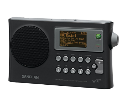 Wi-Fi® FM-RDS Network Music Player/USB Portable Radio
