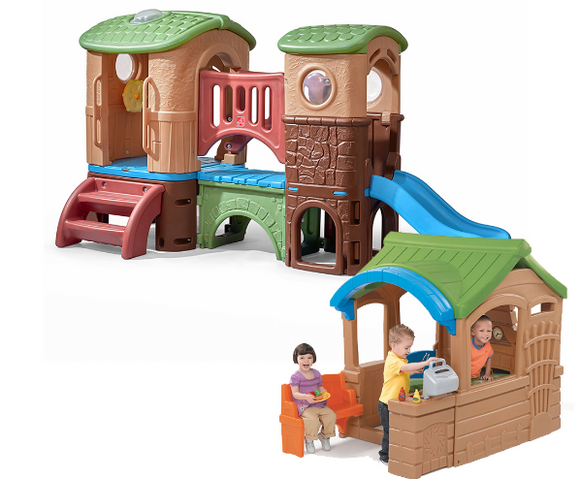 BACKYARD RETREAT PLAY SET