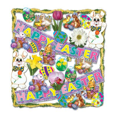 Easter Trimorama Decorating Kit - 26ct