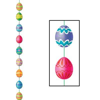 Easter Egg Stringer 6ft 6in (5 pcs)