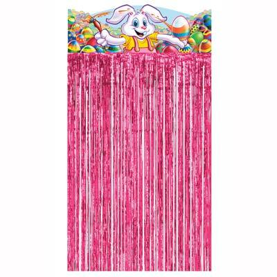 Easter Bunny Character Curtain 4ft 6in x 3ft