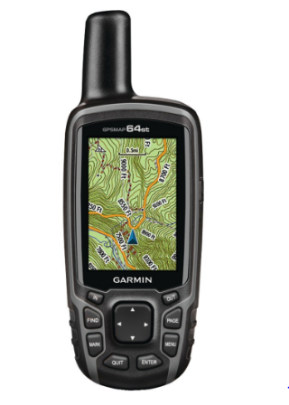 GPSMAP® 64st Worldwide GPS Receiver (Preloaded TOPO US 100K maps, 3-Axis Electronic Compass)