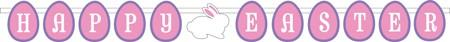 Happy Easter Diecut Letter Paper Banner (2pcs)