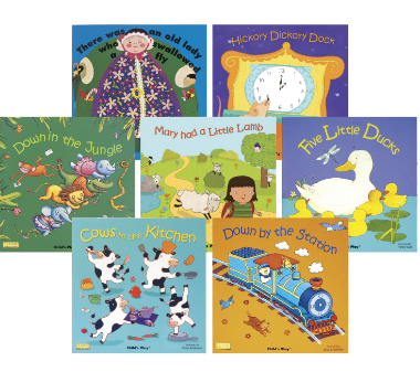Childcraft Classic Big Book Set 2 with CD Set, 17 x 17 in, Set of 8