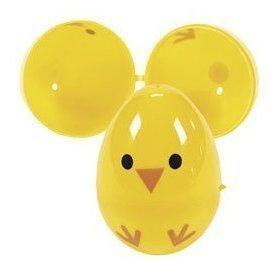 Plastic Yellow Chick Easter Eggs - 12 ct