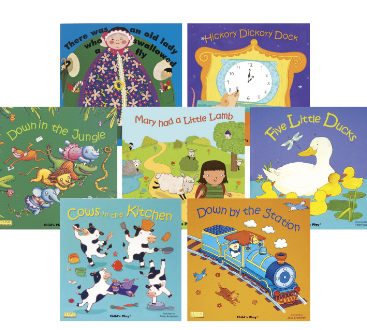 Childcraft Classic Book Set 2 with CD, 11-3/8 in x 11-3/8 in, Set of 8