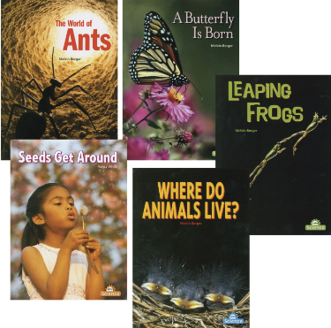 Childcraft Exploring Nature Big Books, Set of 5