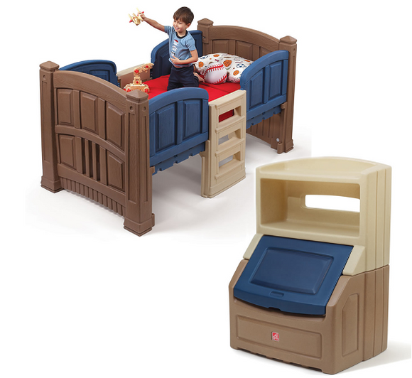 BOY'S LOFT & STORAGE BEDROOM SET