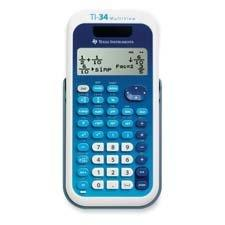 Scientific Calculator,4-Line,Dual Pwr,3-1/5