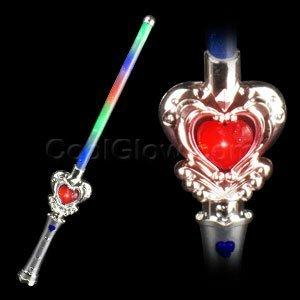 Fun Central AD632 Fun Central LED Light Up Heart Wand