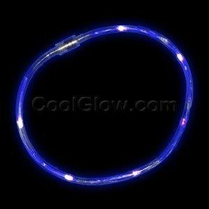 Fun Central X819 LED Light Chaser Necklace - Blue