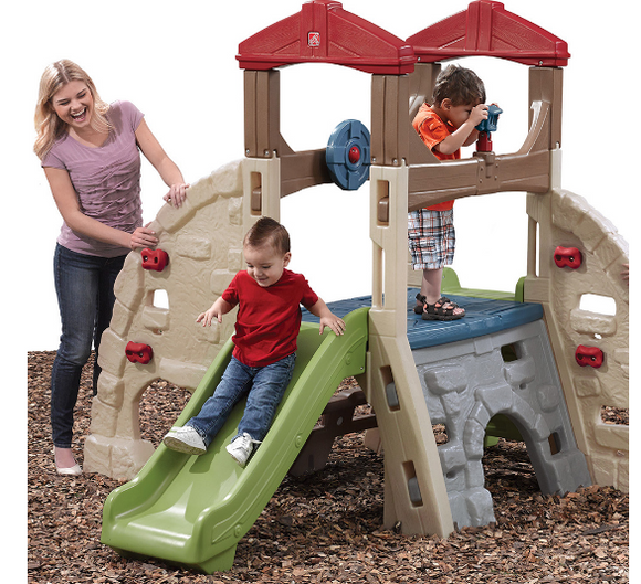 ALPINE RIDGE CLIMBER AND SLIDE