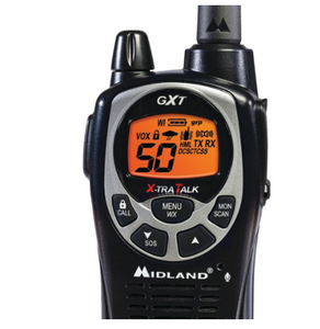 36-Mile GMRS Radio Pair Pack with Drop-in Charger & Rechargeable Batteries