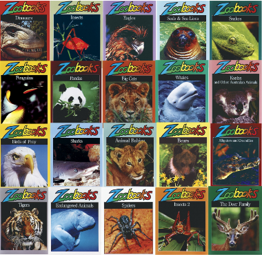 Childcraft Zoo Books, Set of 20