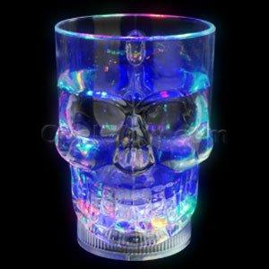 LED 14oz Skull Mug - Multicolor